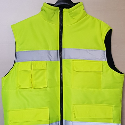 Yellow Safety Jacket EN 20471